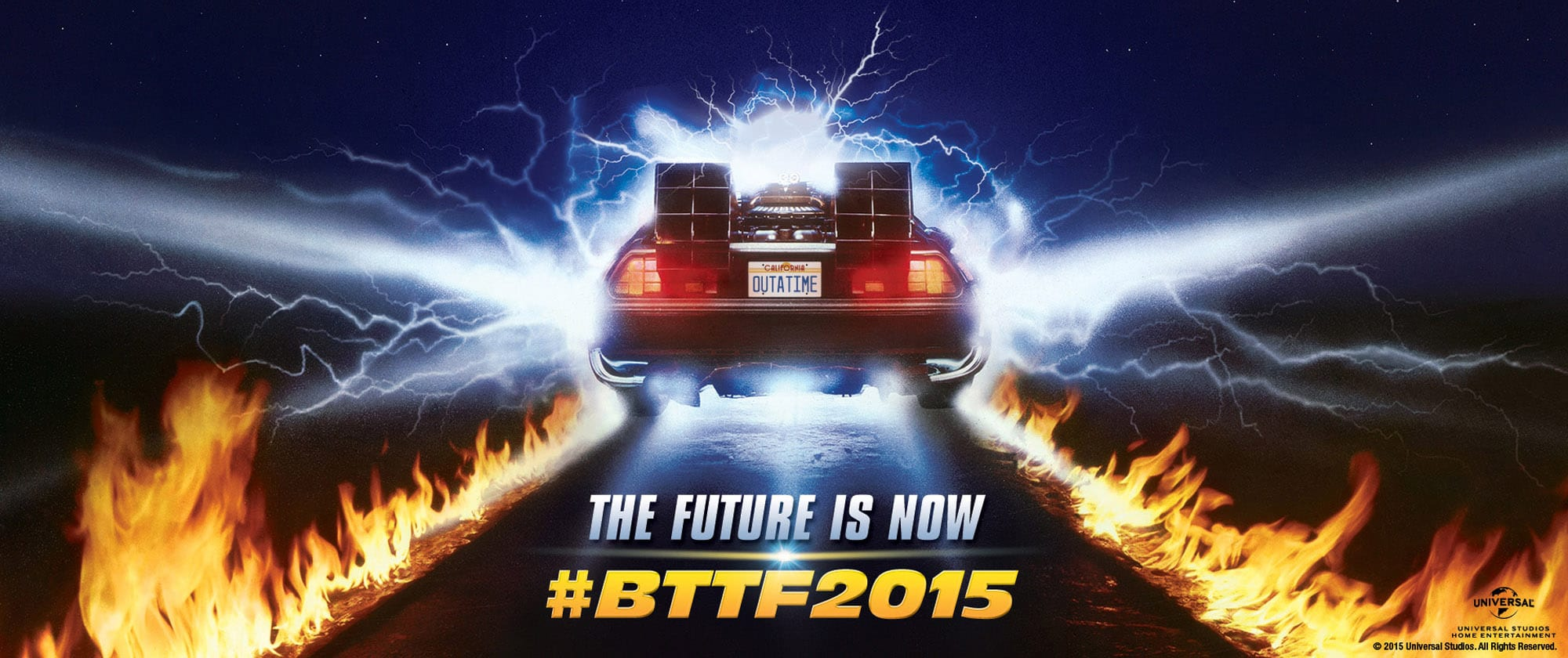 Great Scott – The future is now